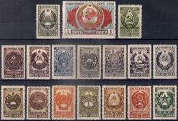 Russia 1947, Michel Nr 1092-1108, MLH OG - 1923-1991 USSR