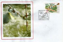 Canoë-Kayak Andorra. FDC Andorra Espagnol - Canoa