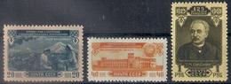 Russia 1950, Michel Nr 1518-20, MLH OG - 1923-1991 USSR