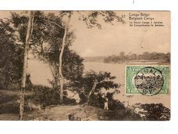 Belgisch Congo Belge  Entier Vue 57 Fleuve Congo Sendwe CP 5c + TP Mols 5c C.Lisala 6/1/1919 Non Voyagée PR5225 - Entiers Postaux