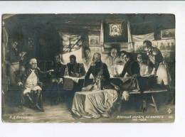 264464 RUSSIA Kivshenko War 1812 War Council At Fili Vintage - Illustrators & Photographers