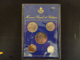 BELGIUM FDC SET 1974 FRANCAIS - 1951-1993: Baudouin I