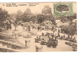 Belgisch Congo Belge  Entier Vue 5 Lépoldville CP 5c + TP Mols 5c C.Lisala 6/1/1919 Non Voyagée PR5226 - Entiers Postaux