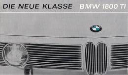 BMW 1800 TI - DIE NEUE KLASSE - Advertising