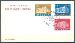 MONACO - 26.4.1969 - FDC - EUROPA -  Mi 929-931 - Yv 789-791 - Lot 16844 - FDC