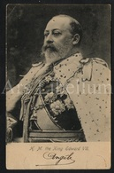 Postcard / ROYALTY / United Kingdom British Dominions, And Emperor Of India / King Edward VII / 2 Scans / 1908 - Tuck, Raphael