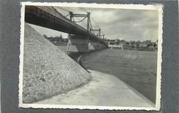 CHATEAUNEUF SUR LOIRE (Loiret) - Le Pont Sur La Loire En 1936 (photo Format 11,2cm X 8,5cm) - Lieux