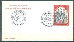 MONACO - 26.4.1969 - FDC - CROIX ROUGE -  Mi 927 - Yv 788 - Lot 16845 - FDC