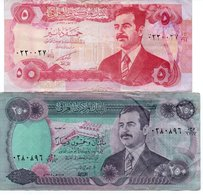 IRAQ-LOTTO 2 BANCONOTE - Iraq