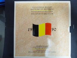 BELGIUM FDC SET 1990 WATERLOO  FRANCAIS & NEDERLANDS - 1951-1993: Baudouin I