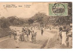 Belgisch Congo Belge Entier Vue 47 Le Dimanche CP 5c + TP Mols 5c C.Lisala 6/1/1919 Non Voyagée PR5229 - Entiers Postaux