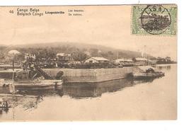 Belgisch Congo Belge Entier Vue 46 Les Bassins CP 5c + TP Mols 5c C.Lisala 6/1/1919 Non Voyagée PR5230 - Entiers Postaux
