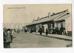 270406 CHINA Mukden Railway Station Efimov 1905 Year Postcard - China