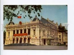 271686 VIETNAM HANOI Town Theatre Old Photo Postcard - Vietnam
