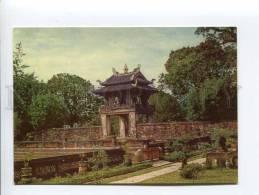 271687 VIETNAM HANOI Temple Of Literature Old Photo Postcard - Vietnam