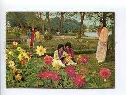 271691 VIETNAM HANOI Youth Road Girls Old Photo Postcard - Vietnam