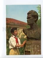 271693 VIETNAM HANOI Nguyen Van Troi Statue Pioneer Old Photo - Vietnam
