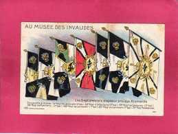 Militaria, Au Musée Des Invalides, Les Sept Premiers Drapeaux Pris Aux Allemands, 1914 - Autres