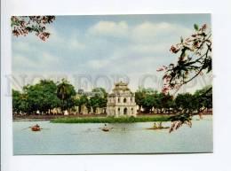 271696 VIETNAM HANOI Tortoise Tower Old Photo Postcard - Vietnam