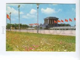 271701 VIETNAM Ho Chi Minh Mausoleum 1976 Year Photo Postcard - Vietnam
