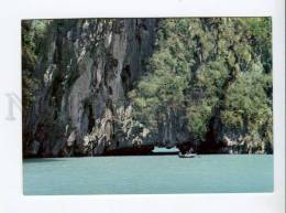 271720 VIETNAM Long Bay Boats Old Photo Postcard - Vietnam
