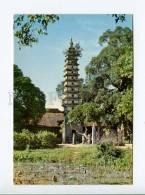 271722 VIETNAM Chua Thap Towering Pagoda At Nam Dinh Photo - Vietnam