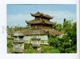 271724 VIETNAM Du Hang Pagoda At Hai Phong Old Photo Postcard - Vietnam