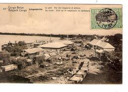 Belgisch Congo Belge Entier Vue 44 Lépoldville Le Port-de Haven CP 5c + TP Mols 5c C.Lisala 6/1/1919 Non Voyagée PR5231 - Entiers Postaux