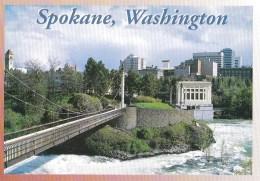 Site Of Expo '74, Now 100 Acre Park, Spokane, Washington, USA Unused - Spokane