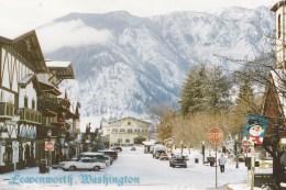 Leavenworth, Bavarian Village In Winter, Washington, USA 1996 Unused - United States
