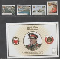 BAHRAIN, 2018, MNH,BAHRAIN DEFENCE FORCE, SHIPS, PLANES, TANKS, MILITARY, 4v+ S/SHEET - Militaria
