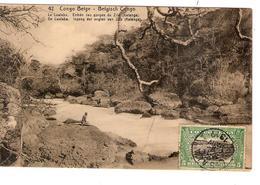 Belgisch Congo Belge Entier Vue 42 Le Lualaba CP 5c + TP Mols 5c C.Lisala 6/1/1919 Non Voyagée PR5233 - Entiers Postaux
