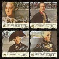 AUSTRALIA 1986 - 200th ANNIV Colonization Of Australia V: Settlement Of New South Wales. 4v - Mi 984-87 MNH ** Cv€4,50 K - Mint Stamps