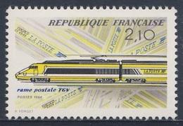 France Rep. Française 1984 2460 YT 2334 ** Inaug. TGV High-speed Paris-Lyon Mail Service / Erster Posttransport TGV - Post