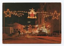ANGOLA SÁ DA BANDEIRA 1960years CHRISTMAS STREET SECEN BY NIGHT  AFRIKA AFRIQUE HUILA - Angola