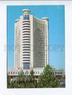 271931 Uzbekistan TASHKENT Hotel Moscow 1986 Year Postcard - Uzbekistan
