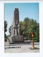 271935 Uzbekistan TASHKENT Monument 14 Turkestan Commissars - Uzbekistan