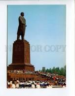271936 Uzbekistan TASHKENT Lenin Monument 1986 Year Postcard - Uzbekistan