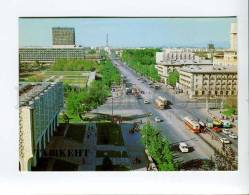 271938 Uzbekistan TASHKENT Lenin Avenue 1986 Year Postcard - Uzbekistan