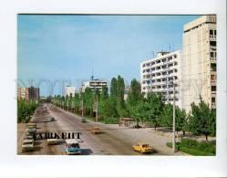 271940 Uzbekistan TASHKENT Lenin Avenue 1986 Year Postcard - Uzbekistan