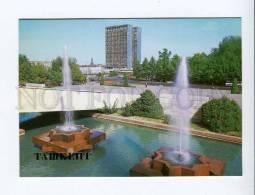 271941 Uzbekistan TASHKENT Lenin Square 1986 Year Postcard - Uzbekistan