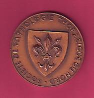 MEDAILLE SOCIETE DE PATHOLOGIE THORACISUE DU NORD COLLOQUE INTERNATIONAL  27 28 29 SEPTEMBRE 1968 LILLE - France