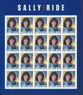 USA. Scott # 5283 MNH Sheet Of 20. Sally Ride First American Women In Space 2018 - Ganze Bögen