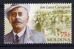 Moldova Moldavia 2007 MNH ION LUCA CARAGIALE Writer 1 Val - Moldavia