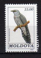 Moldova Moldavia 1992 MNH Birds Cuculus Canorus 1 Val - Moldavia