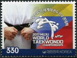 Korea South. 2017. World Taekwondo Championships, Muju, Korea (MNH OG **) Stamp - Corée Du Sud