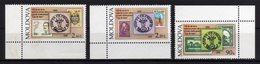Moldova Moldavia 1998 MNH 140th Of First Stamp In Moldova 3 Val - Moldavia