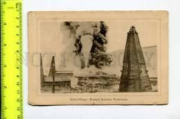 272178 Baku Bibi-Heybat OIL Fountain Fire Rothschild Vintage - Azerbaïjan