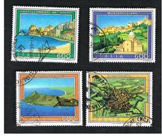 ITALIA REPUBBLICA  - SASS. 1926.1929   -      1990     TURISTICA  -      USATO - 6. 1946-.. República