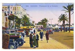 CANNES  PROMENADE DE LA CROISETTE - Cannes